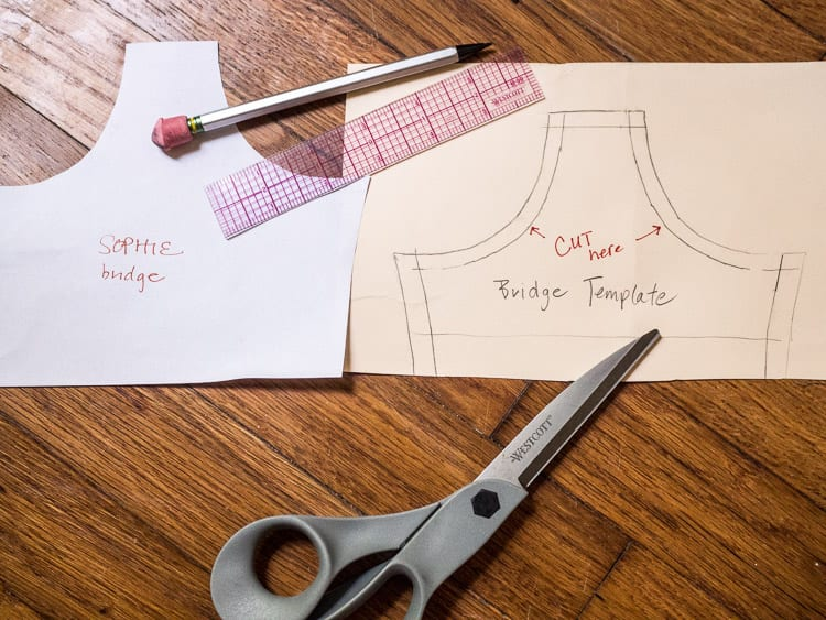 Fitting a balconette style bra cup // Sophie Swimsuit Pattern // Closet Case Files