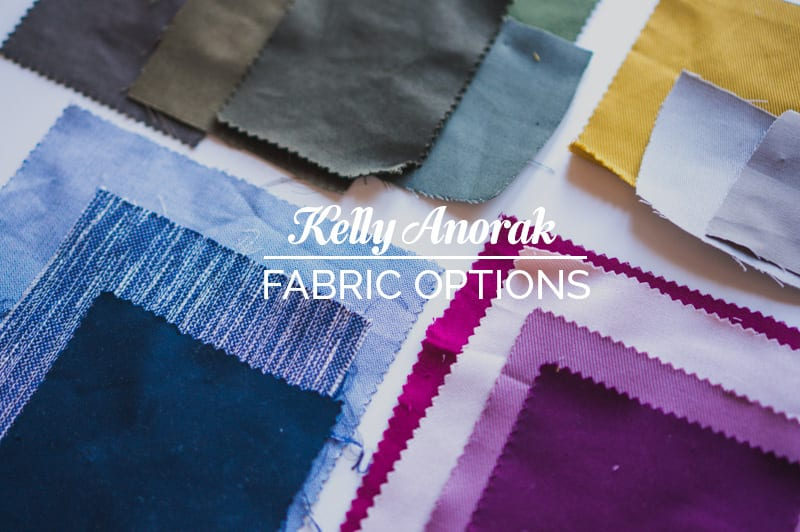 Fabric options for the Kelly Anorak // Closet Case Patterns