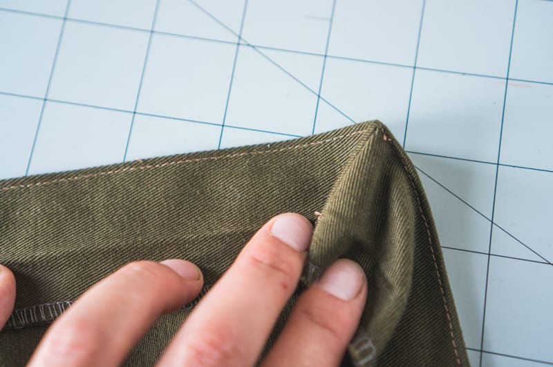 How to sew bellows or gusseted pockets // Closet Case Patterns