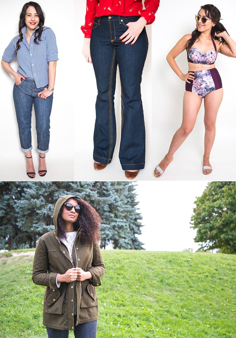 2016 Sewing Patterns from Closet Case Patterns