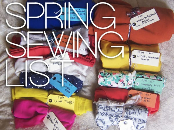Spring Sewing // Closet Case Patterns