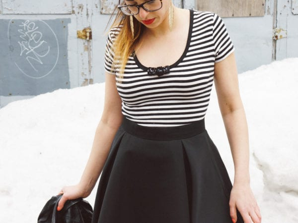 By Hand London Flora skirt by Closet Case Files