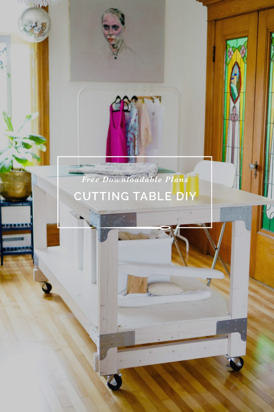 Cutting Table DIY // Free Furniture Plans // Closet Case Patterns