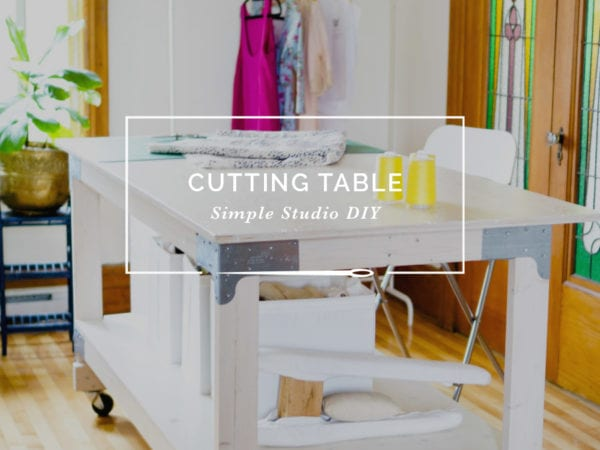 Sewing U0026 Cutting Table DIY For Your Craft Or Sewing Studio