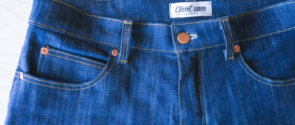Ginger Jeans Sewalong | Closet Case Patterns