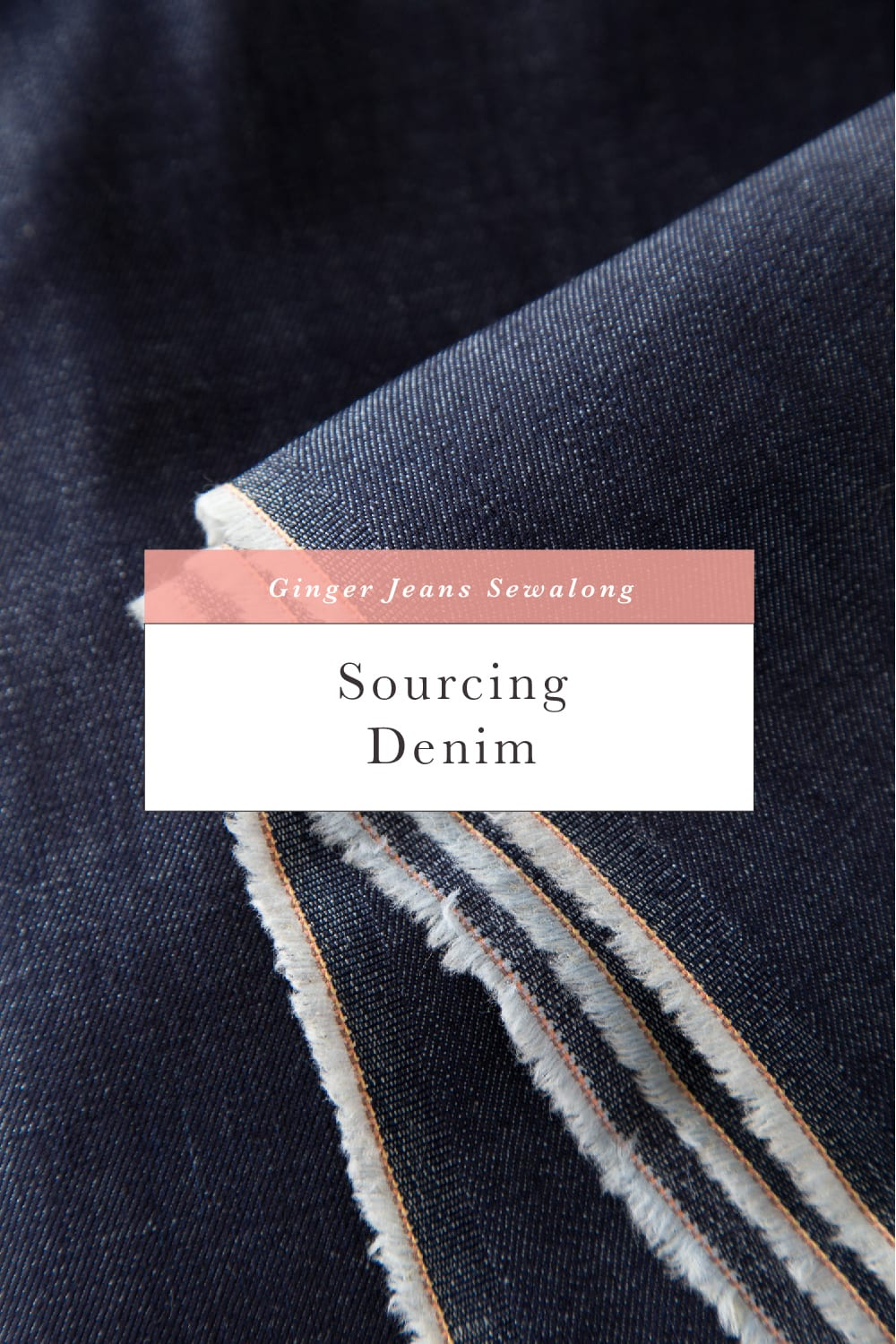 Sourcing denim for making jeans // Ginger Jeans Sewalong // Closet Case Patterns