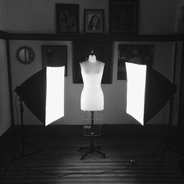 softbox studio light