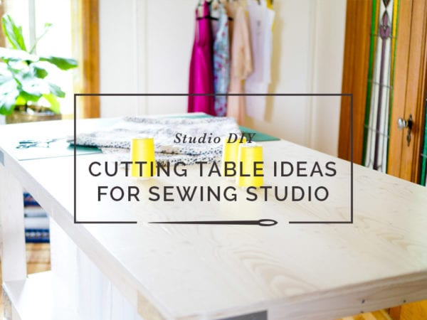 DIY tables for crafting, sewing and cutting