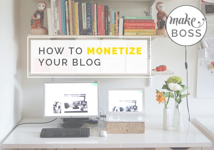 blog advertising, make money blogging