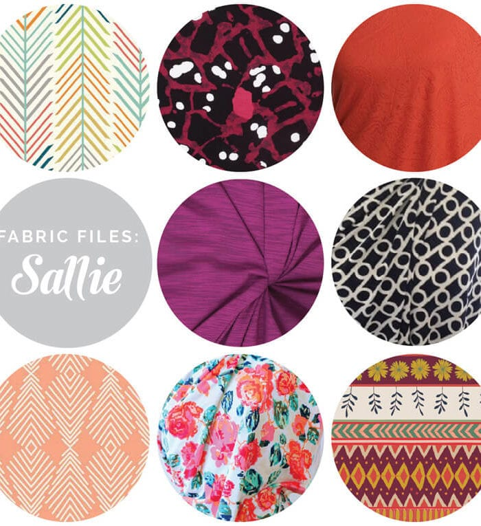 Knit fabrics for the Sallie Jumpsuit & Maxi dress pattern // Closet Case Files