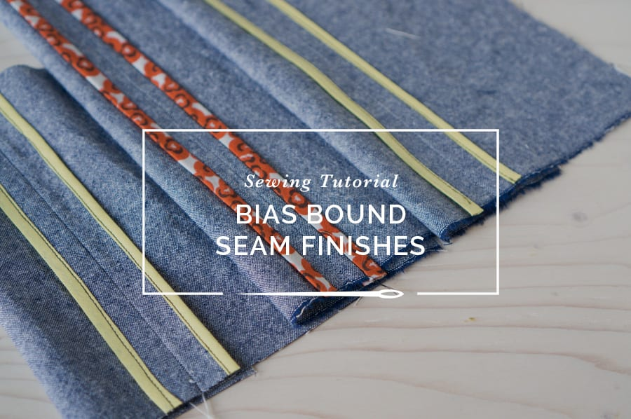how to sew hong kong and bias bound seams closet case patterns