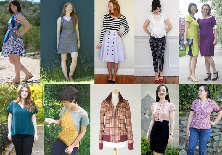 Sewing Indie Month Pattern Bundle #1 // Up to ten patterns for $38