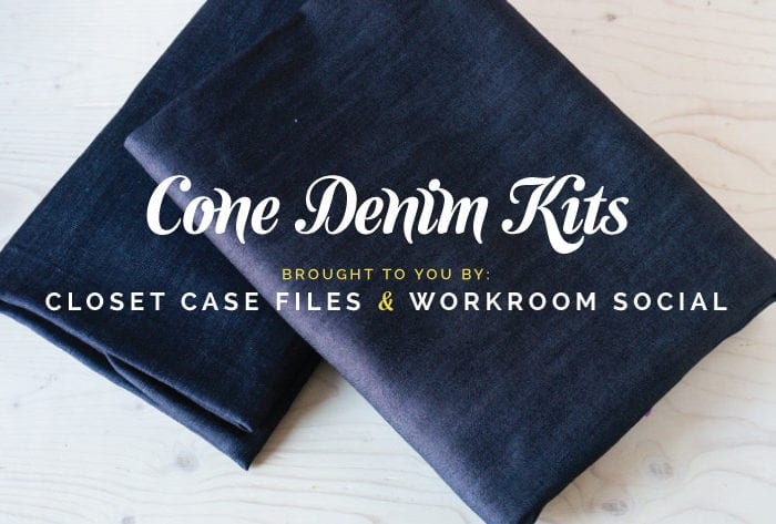 Cone Mills Denim Kit // Limited time Only // Closet Case Files