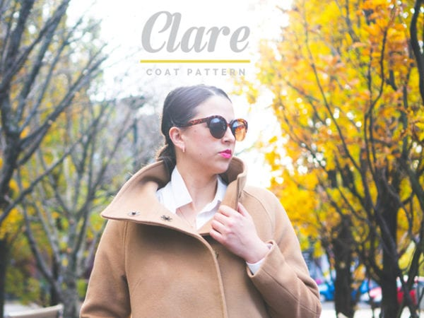 Clare Coat Pattern // View B // Closet Case Files