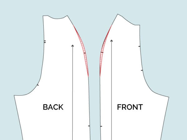 How to fit raglan sleeves with narrow shoulders // Clare Sewalong // Closet Case Files
