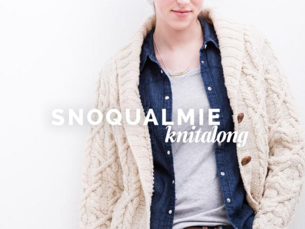 Snoqualmie Cardigan Knitalong // Closet Case Files