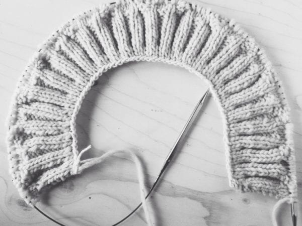 This week in sewing blogs vol. 78 // Snoqualmie sweater in progress