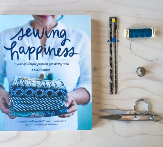 Sewing Happiness by Sanae Ishida // Book review by Closet Case Files