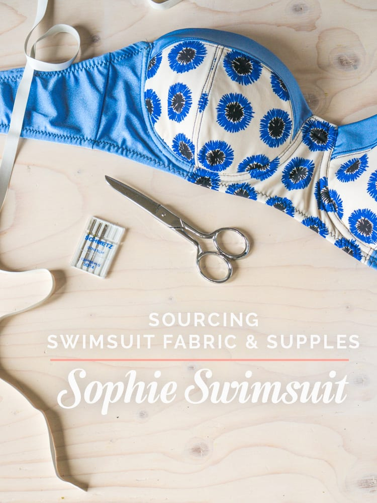 Where to buy swimsuit fabric and supplies // Closet Case Files