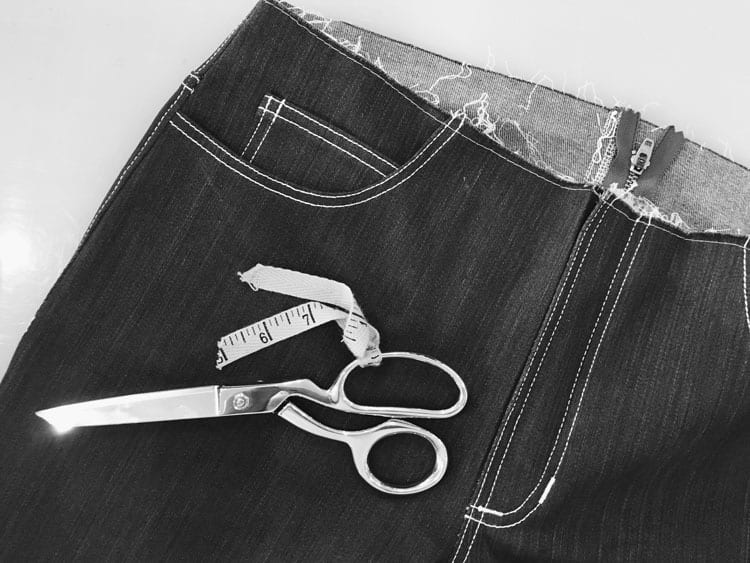 GInger Jeans Sewing Workshop at Sew Stitch Sew Shop // Closet Case Files