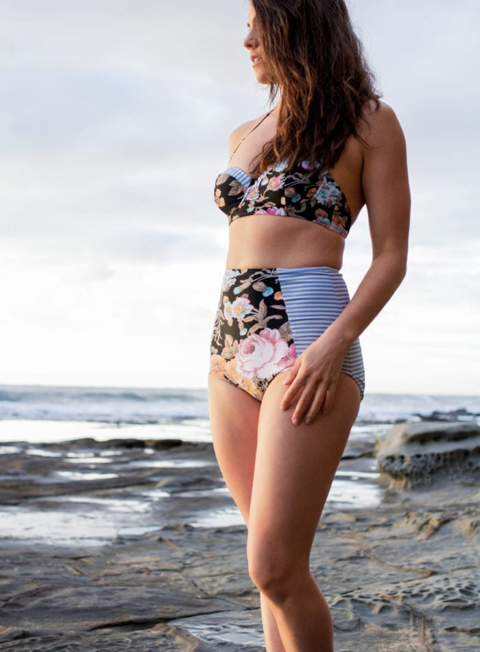 Sophie Swimsuit Pattern made by Ada Spragg // Closet Case Files