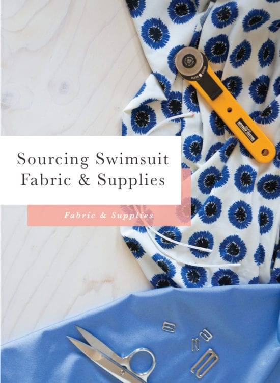 Where to buy swimsuit fabric and supplies // Closet Case Patterns