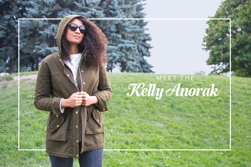 The Kelly Anorak // Jacket Sewing Pattern // Closet Case Patterns