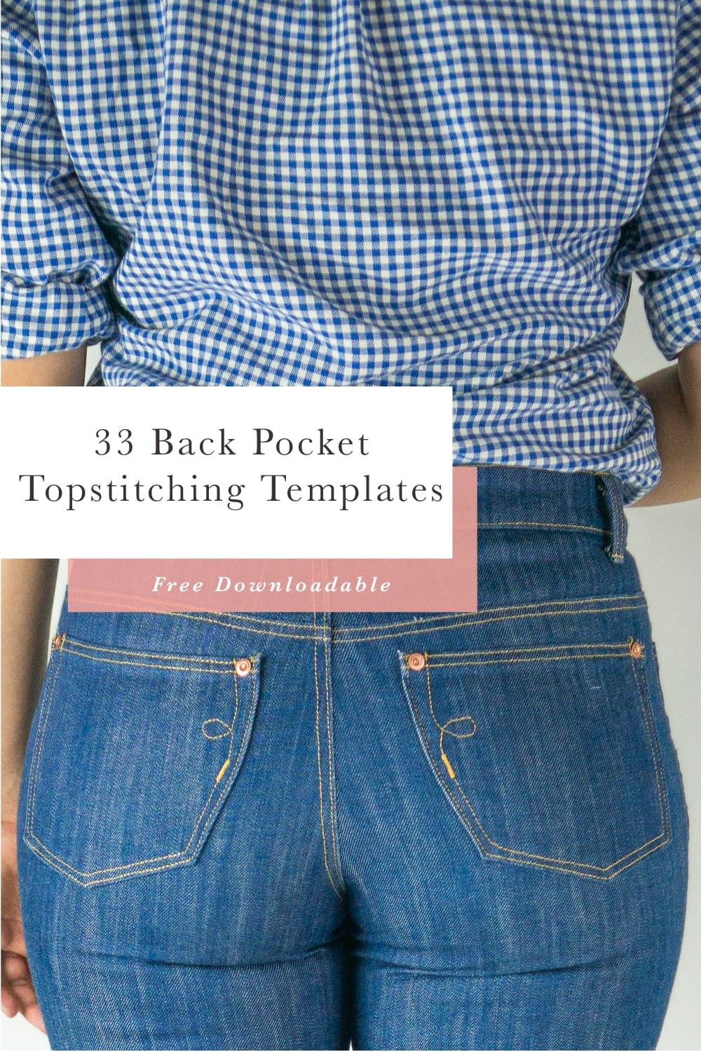 Free Downloadable! 33 Back Pocket Designs & Templates // Closet Case Patterns