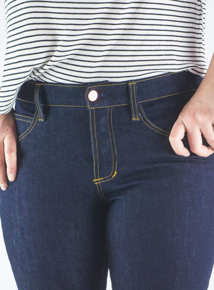 Mid-Rise Ginger Jeans Pattern // Closet Case Patterns