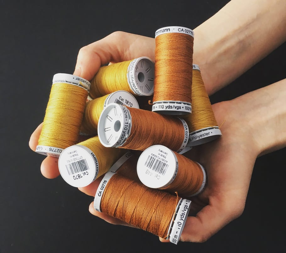 Gutermann topstitching thread // Closet Case Patterns