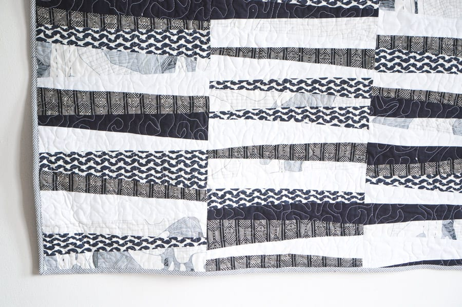 Graphic Black and white Quilt - Easy Quilt Pattern-4   Closet Case ... : black and white quilt patterns free - Adamdwight.com