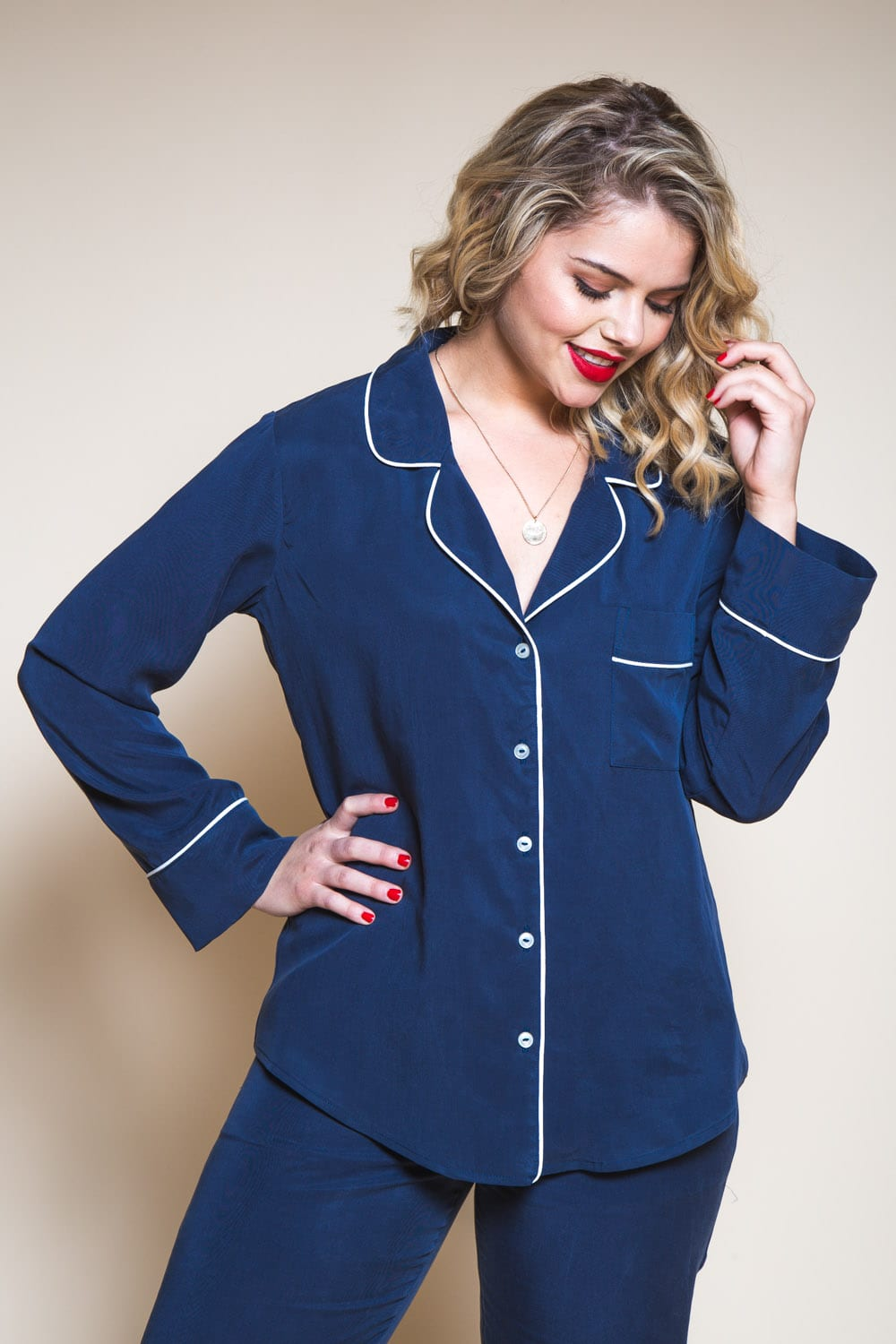 Carolyn Pajamas Pattern // womens pajama pattern // Closet Case Patterns