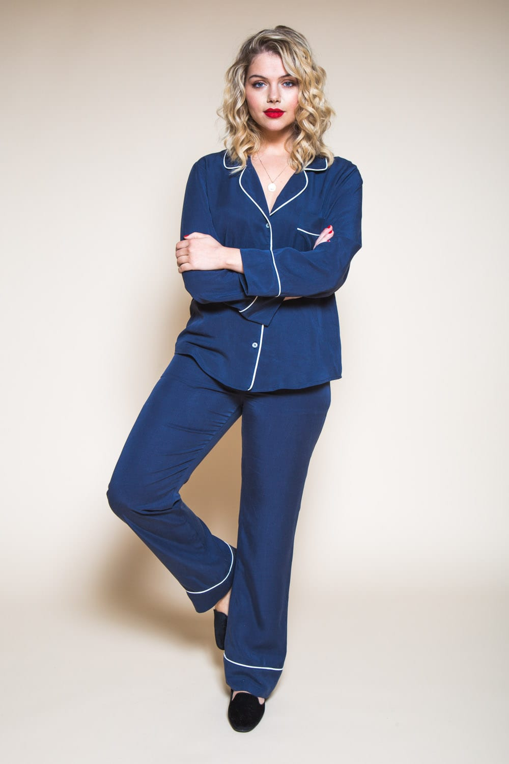 Pattern Refresh: The Carolyn Pajamas