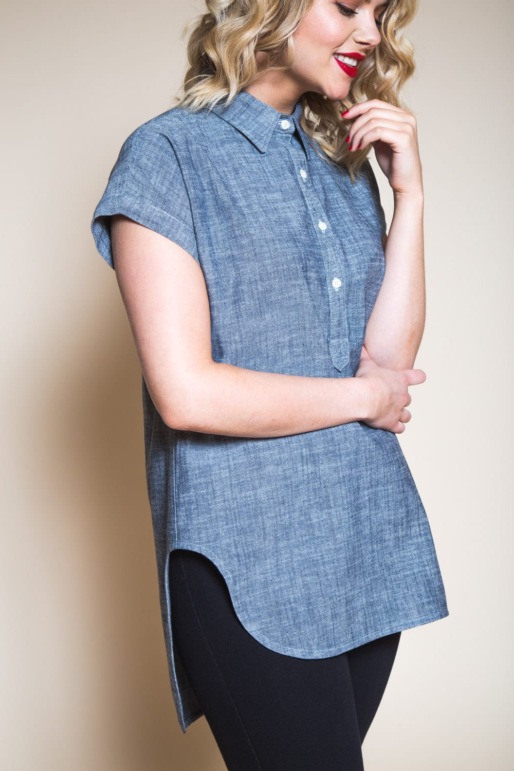 Introducing The Kalle Shirt Shirtdress Pattern Closet