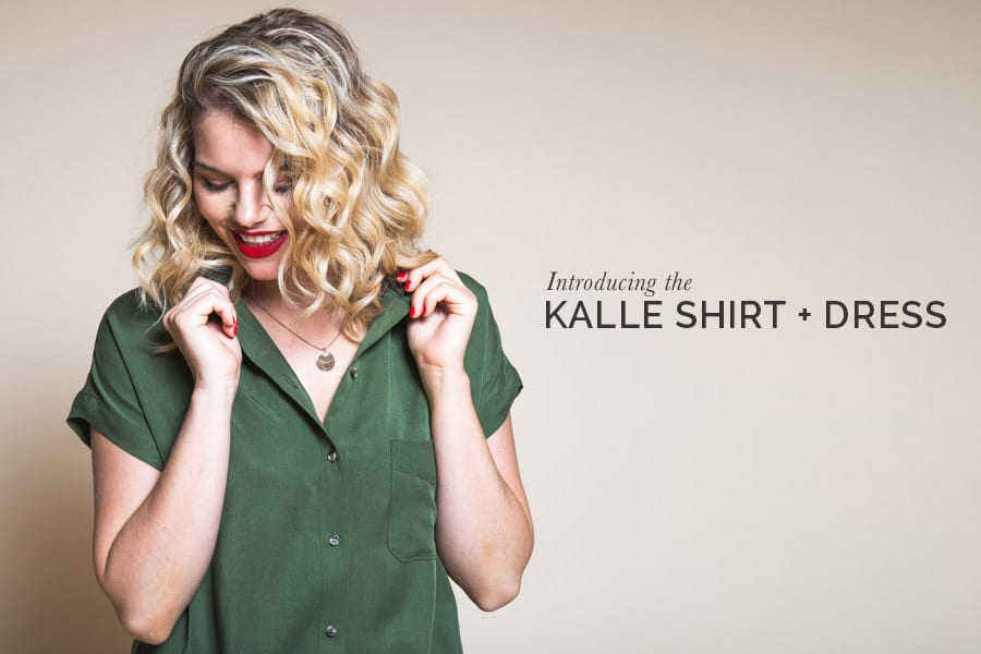 Kalle Shirt & Shirtdress Pattern // Box Pleat // Closet Case Patterns