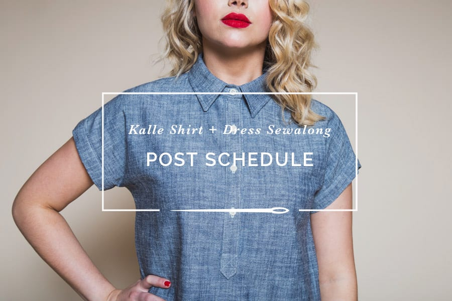 Kalle Shirt + Shirtdress pattern sewalong // Closet Case Patterns