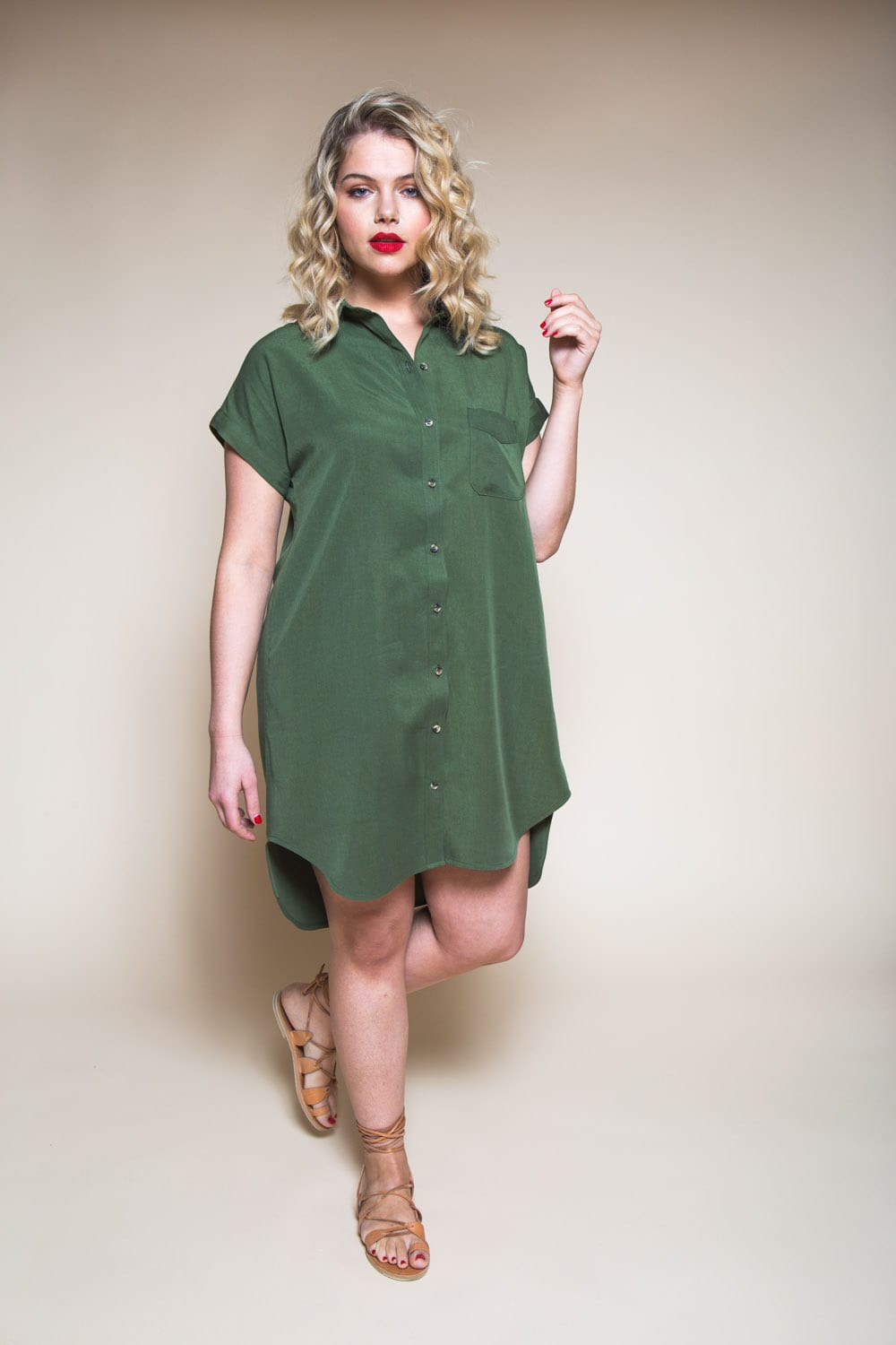 Kalle Shirtdress Pattern // Closet Case Patterns