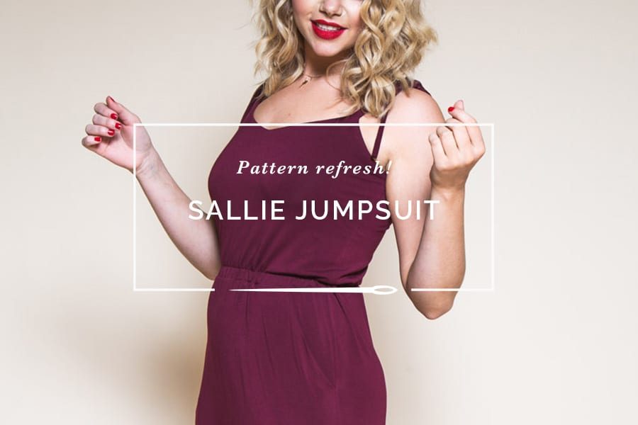 Sallie Maxi Dress Pattern // Womens dress pattern // Closet Case Patterns