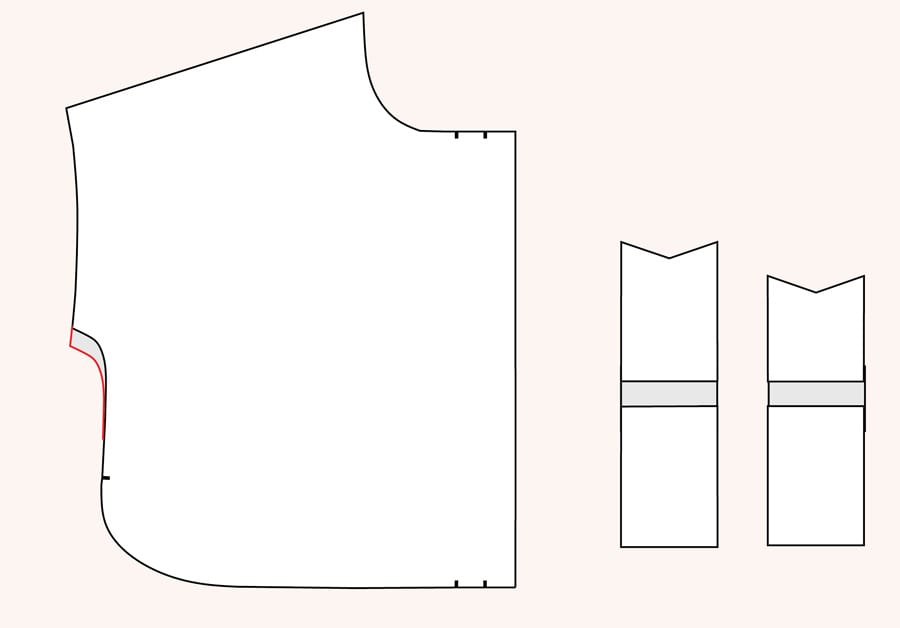 Sleeve modifications for Kalle Shirtdress // Closet Case Patterns