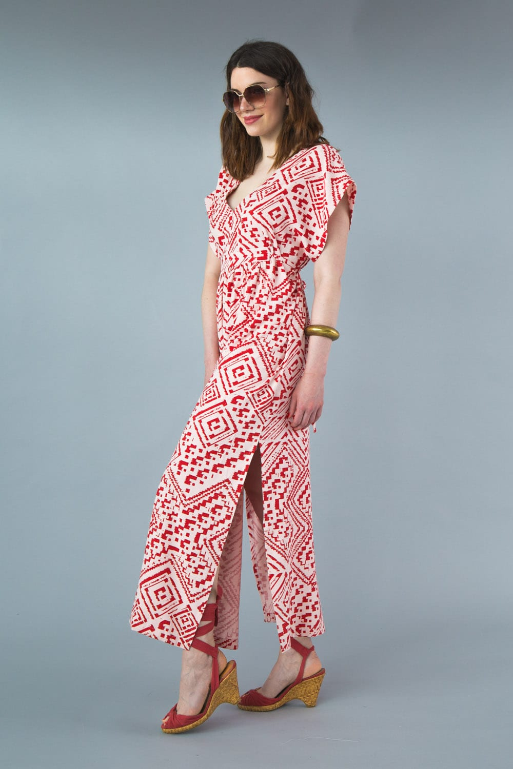 Welcome Summer with our Charlie Caftan Pattern! | Closet Case Patterns