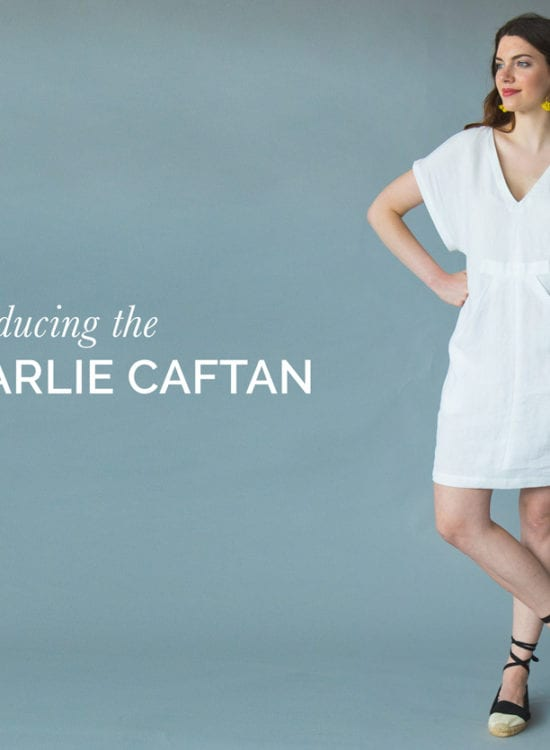 Charlie Caftan Pattern / Kaftan Pattern // Closet Case Patterns