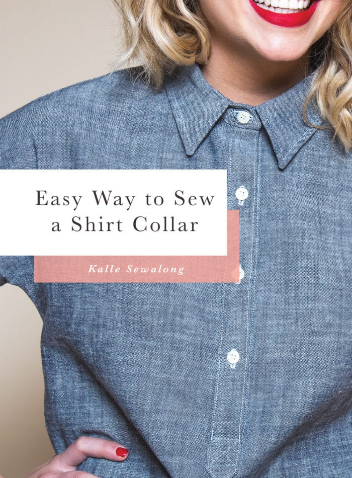 How to Sew a Shirt Collar: The Easy Way // Closet Case Patterns