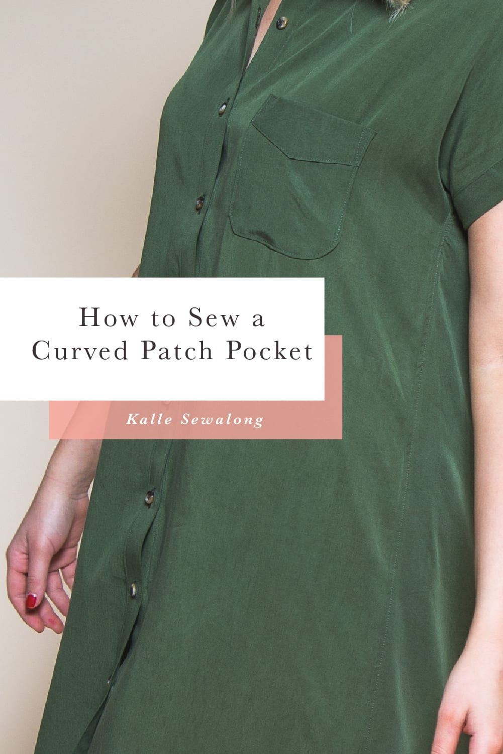 How to sew a curved patch pocket // Closet Case Patterns