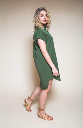Kalle Shirt-dress Pattern-3