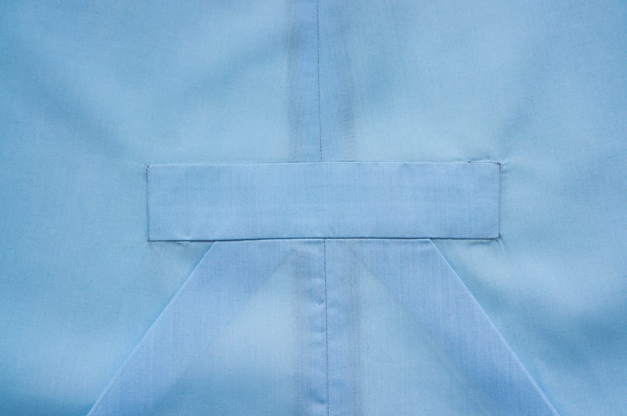Charlie Caftan Sewing inset center panel // Closet Case Patterns