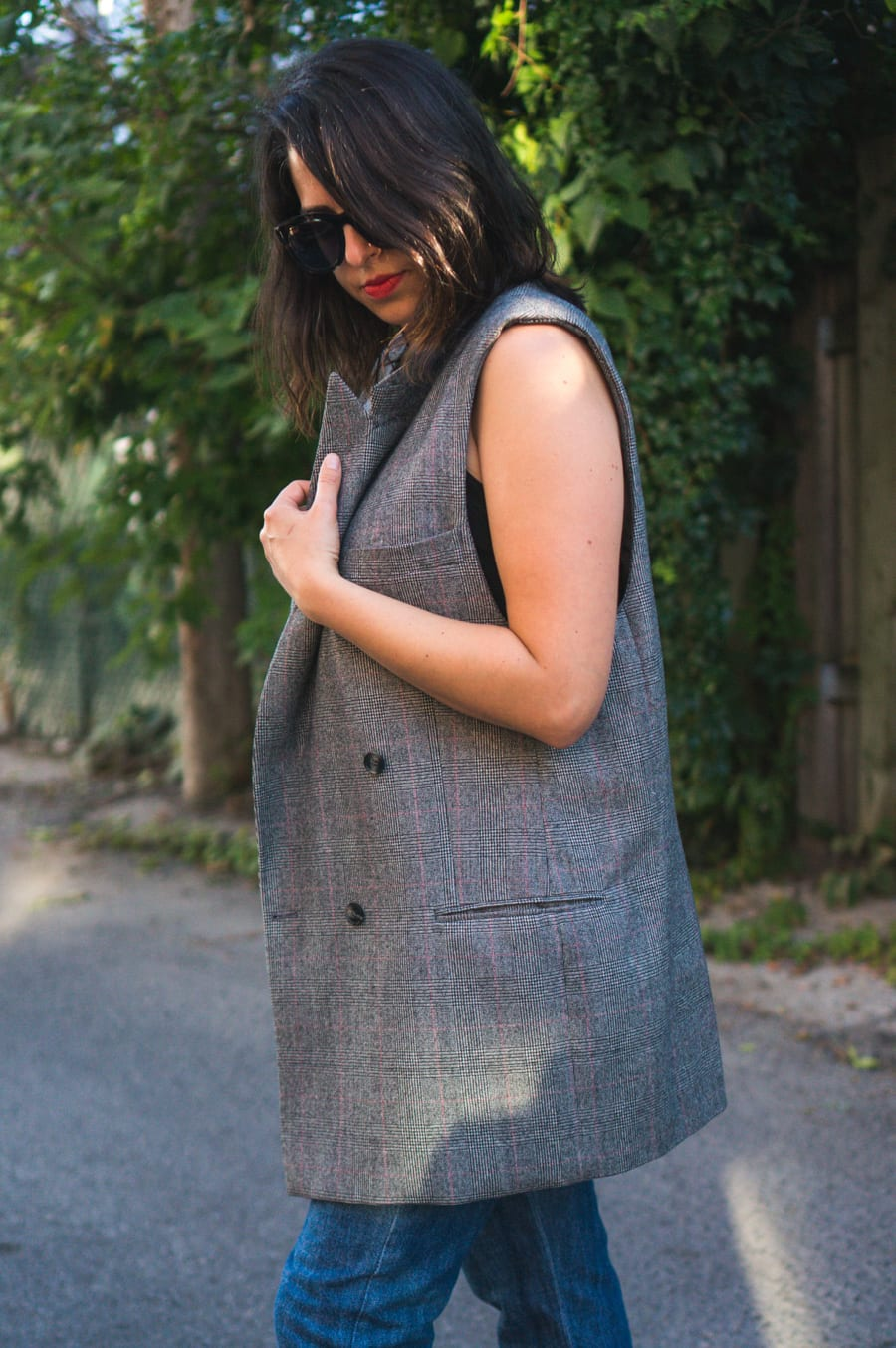 The Refashioners 2017 // Refashioned blazer // Handmade by Closet Case Patterns