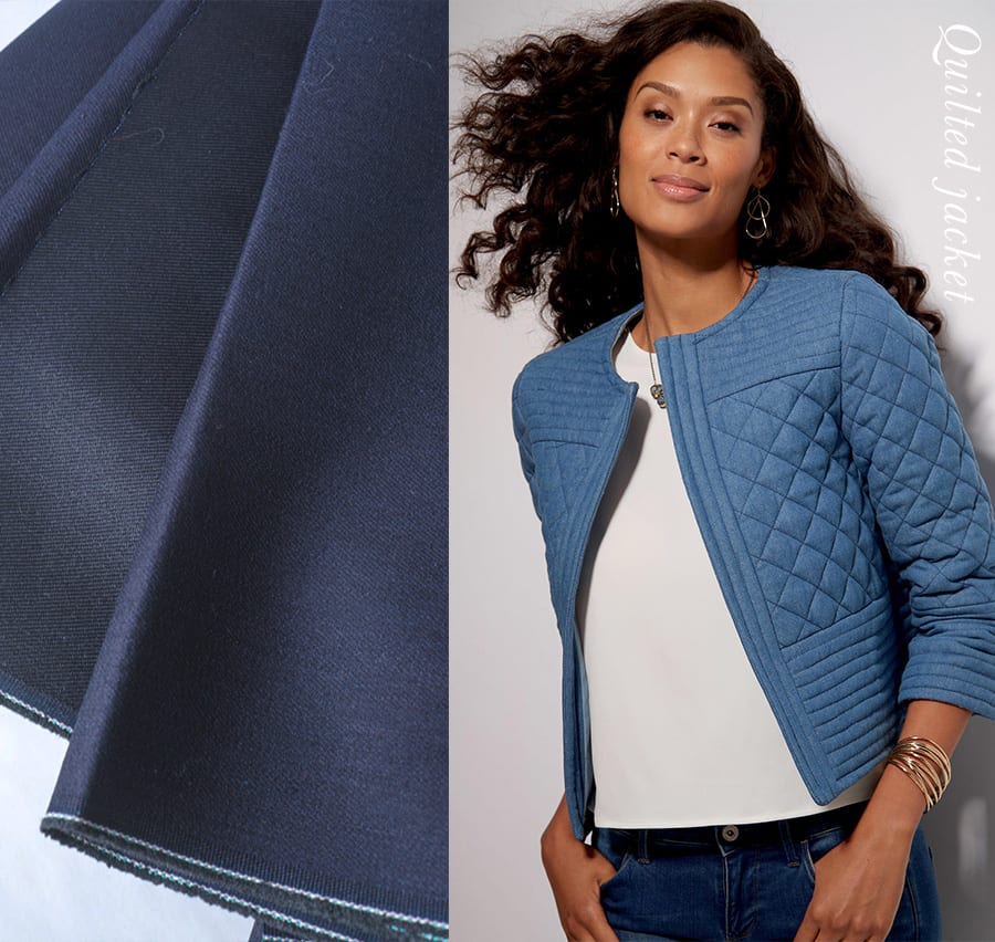 Cropped Quilted Jacket - McCalls M7549 // Closet Case Patterns