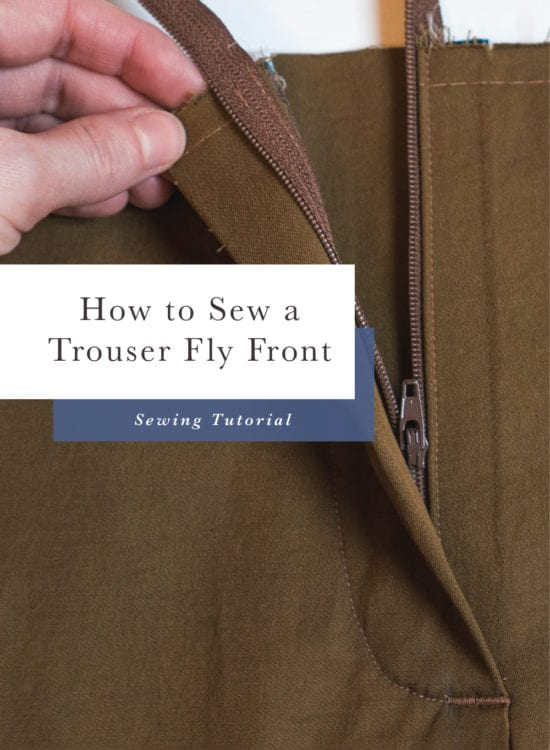 Sasha Trousers // Sewing zipper fly front // Closet Case Patterns
