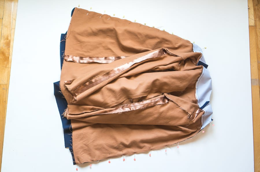 Kelly Anorak Sewalong // Attaching the lining // Closet Case Patterns