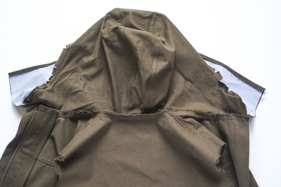 Kelly Anorak Sewalong // Attaching the hood // Closet Case Patterns